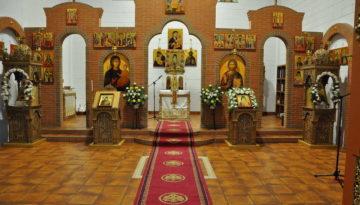 1. Biserica pregatita de slujba