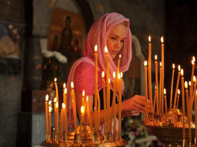 γυναίκα-κεριά