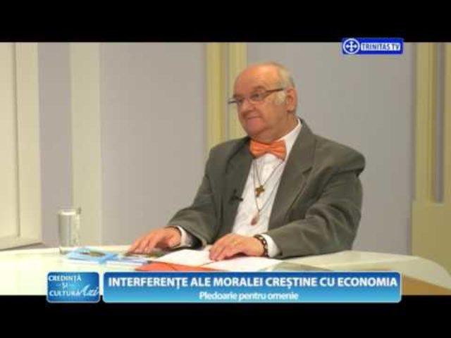 Interferențe ale moralei creștine cu economia. Pledoarie pentru omenie