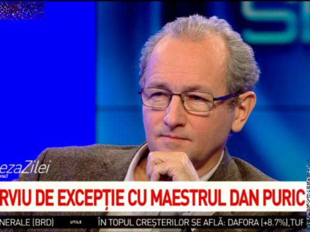 Maestrul Dan Puric la Antena 3