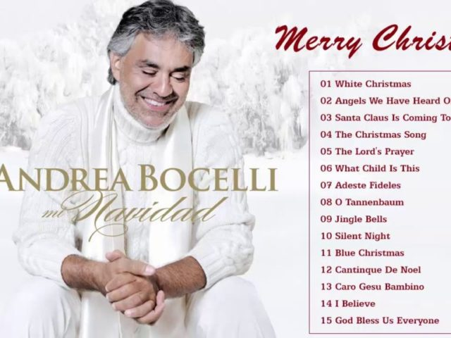 Andrea Bocelli Christmas Songs 2018 – Top Christmas Songs New Playlist 2018