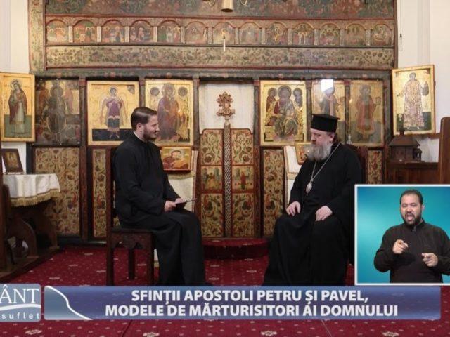 Sfinții Apostoli Petru și Pavel, modele de mărturisitori ai Domnului