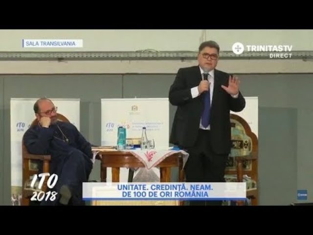 "Conferința ""Unitate. Credință. Neam – De 100 de ori România"" ITO Sibiu 2018"