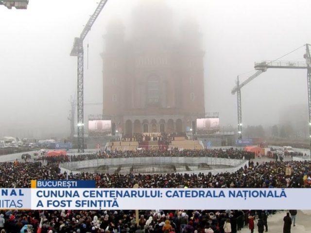 Catedrala Națională a fost sfințită