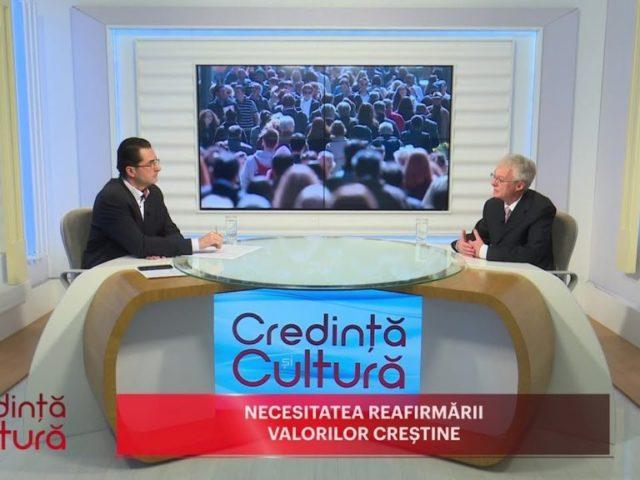 Credință și Cultură. Necesitatea reafirmării valorilor creștine