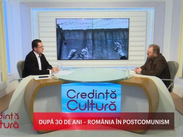 Credință și Cultură. După 30 de ani – România în postcomunism