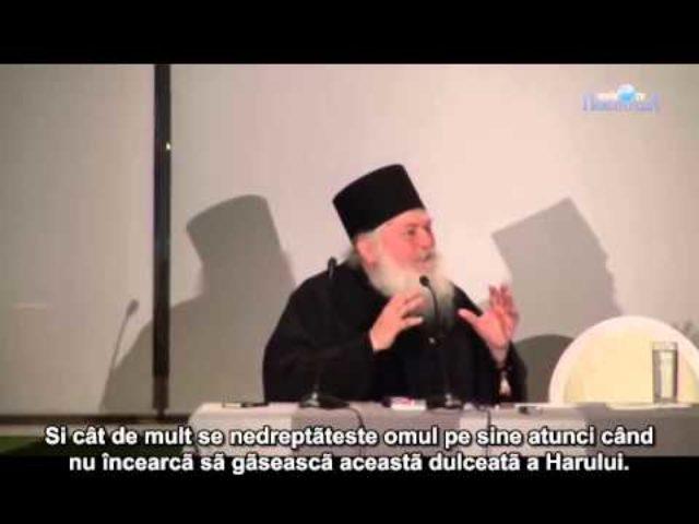 """Arhim. Efrem Vatopedinul: """"Dacă nu le dăm copiilor noștri pe Hristos, studiile nu le folosesc."""""""