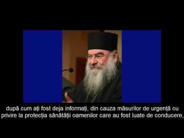 IPS Athanasie de Limassol – Cum să facem față duhovnicește pandemiei Coronavirus